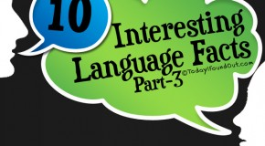 10 Interesting Language Facts (Part-3)