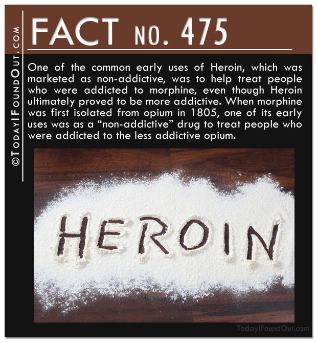 Heroin fact