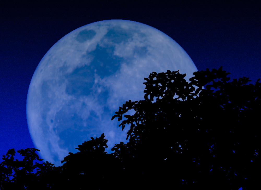 "... the phrase ""once in a blue moon"" and what a blue moon actually is"