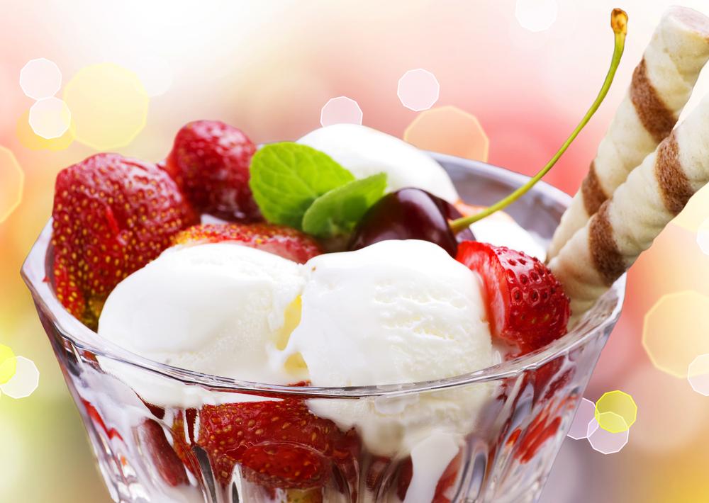 the history of ice cream