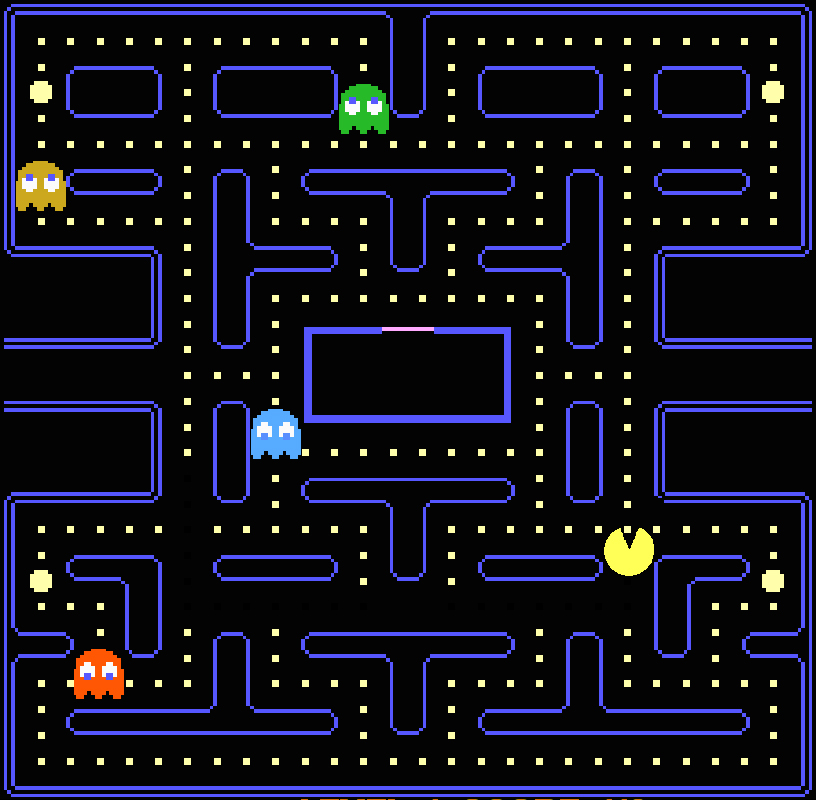 the history of pacman