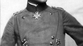 Manfred Albrecht Freiherr von Richthofen, a.k.a., The Red Baron, Crashed In His First Solo Flight