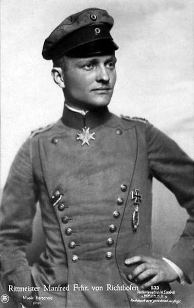 Manfred Albrecht Freiherr von ...