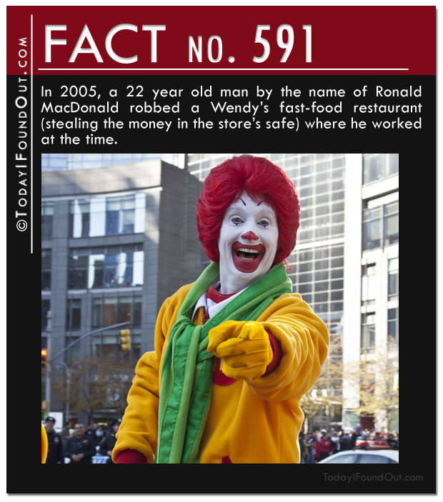 Ronald MacDonald Fact