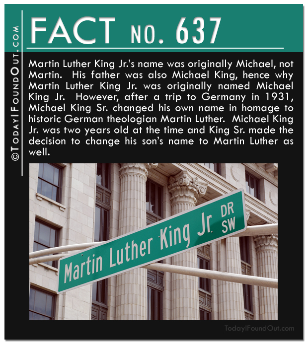 Martin Luther King's Real Name