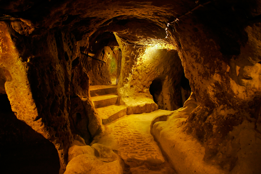 an analysis of the underground city of derinkuyu in ancient subterranean cities In ancient times, humans liked to build cities that inside the intriguing ancient underground city of derinkuyu dna analysis of paracas.