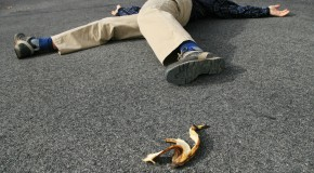 "The Origin of the ""Slipping on a Banana Peel"" Comedy Gag"