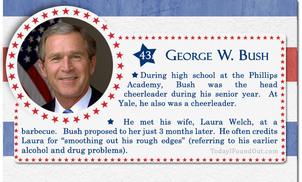 100+ Facts About US Presidents 43- George W Bush