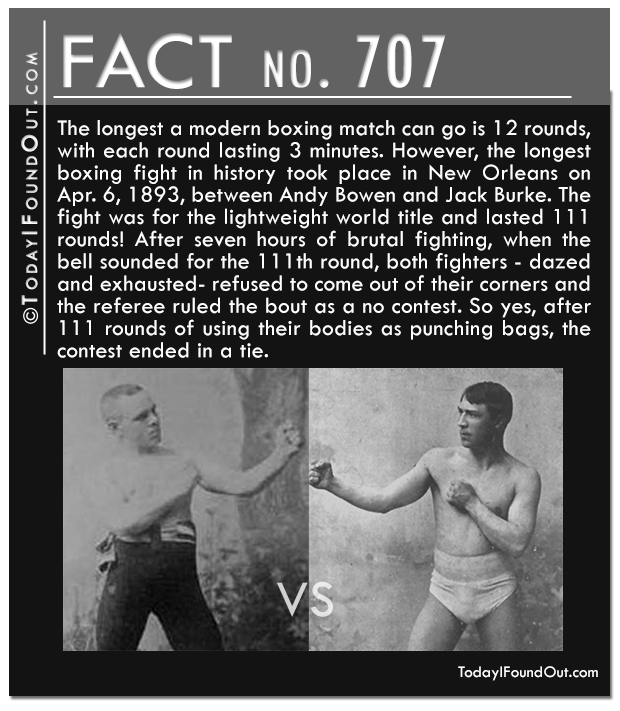 The Longest Boxing Match