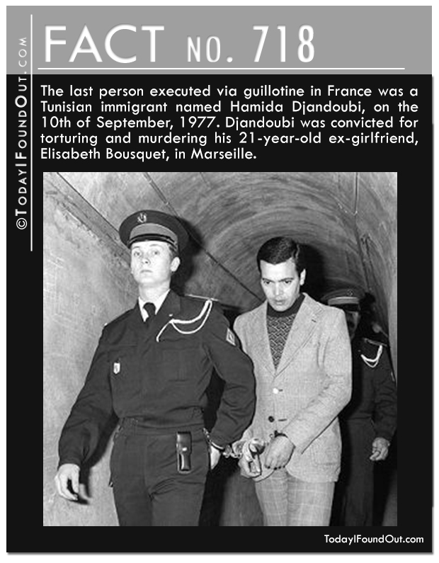 The Last Guillitine Execution
