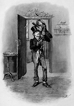 The death of marley in a christmas carol a novella by charles dickens