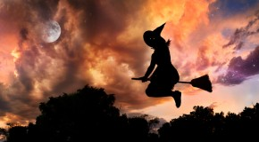 The Fascinating Reason Witches are Commonly Depicted Flying on Broomsticks