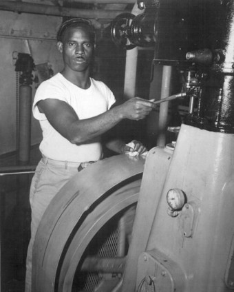 Sailor Arnold R Fesser in 1944