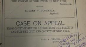 Dr. Robert Buchanan, a Murder, and Killing a Cat in Court