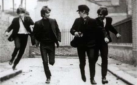 beatles-running