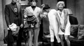 Harpo Marx and His Habit of Shedding His Clothing at Random Times
