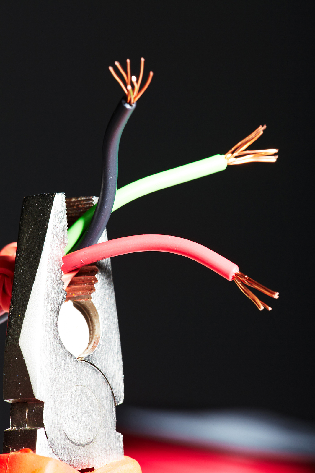 why are electric wires color coded the way they are?Electrical Wiring Colors Red Black White #9