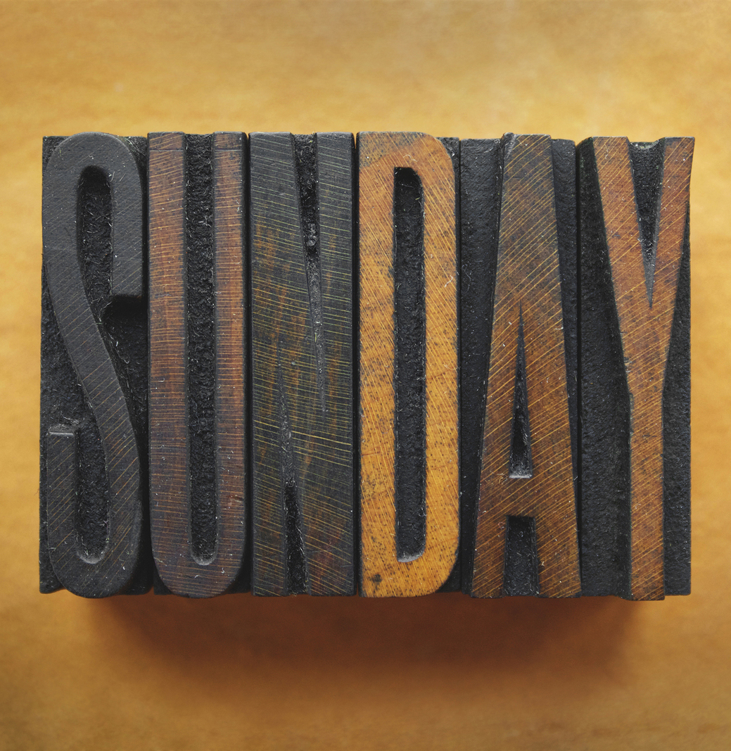 monday through sunday calendar 2015