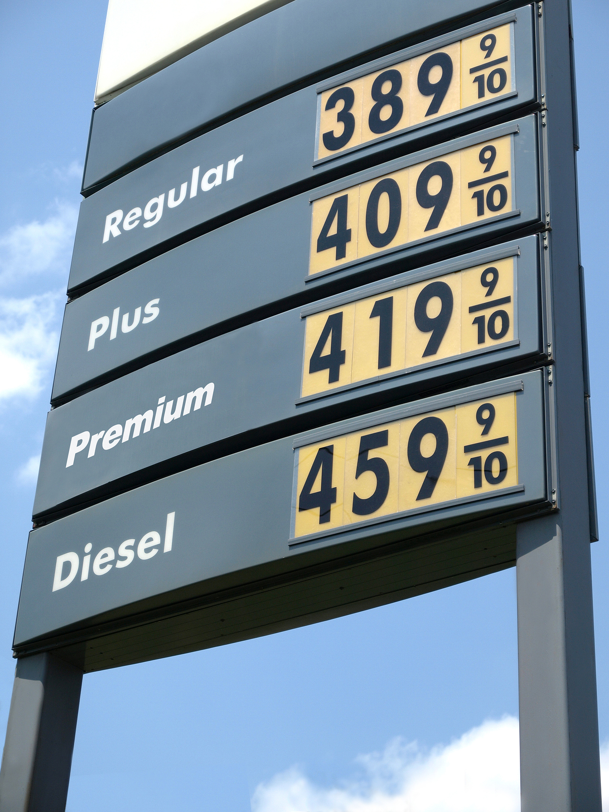 Gas Station Prices >> How The Practice Of Pricing Fuel With 9 10th Of A Penny Got