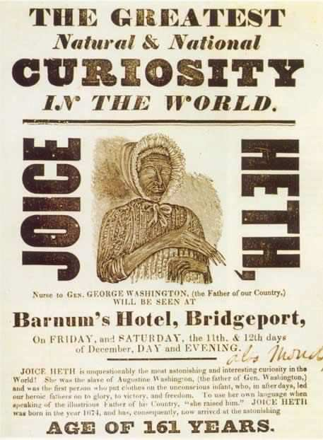 heth women In this compelling story about one of the nineteenth century's most famous americans, benjamin reiss uses p t barnum's joice heth hoax to examine the contours of race relations in the antebellum north barnum's first exhibit as a showman, heth was an elderly enslaved woman who was said to be the.