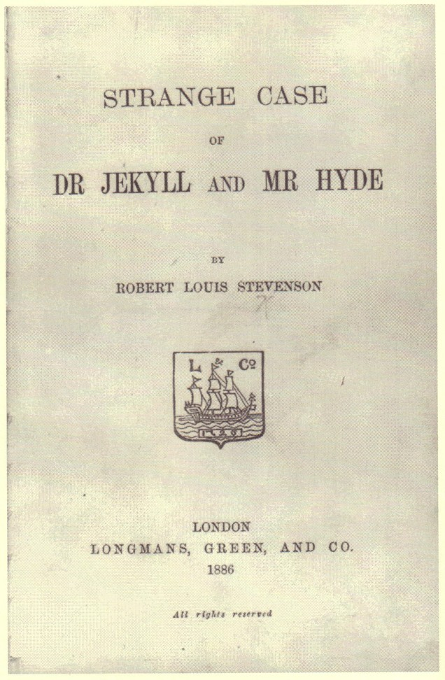 the fall from grace of dr jekyll in dr jekyll and mr hyde a book by robert louis stevenson 196 20 fictitious physicians: where has marcus welby  the strange case of dr jekyll and mr hyde was written by robert  over the course of stevenson's book.