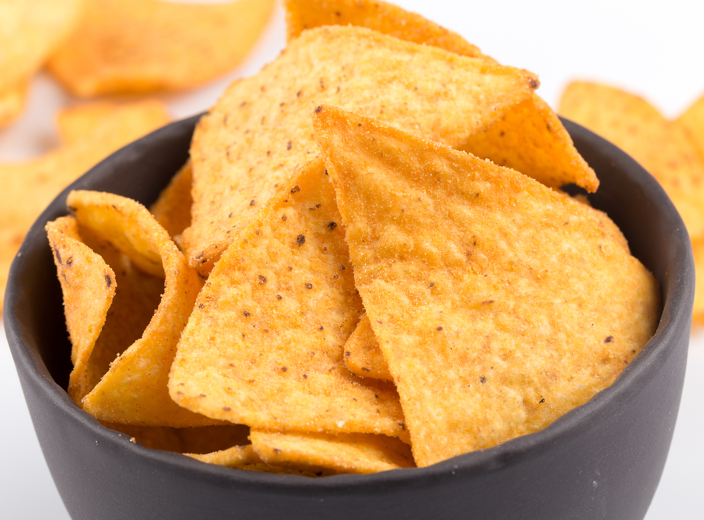 What are the Black Spots on Corn Chips?