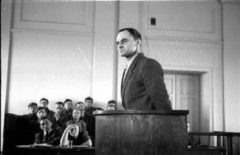 Witold Pilecki podczas sk³adania zeznañ