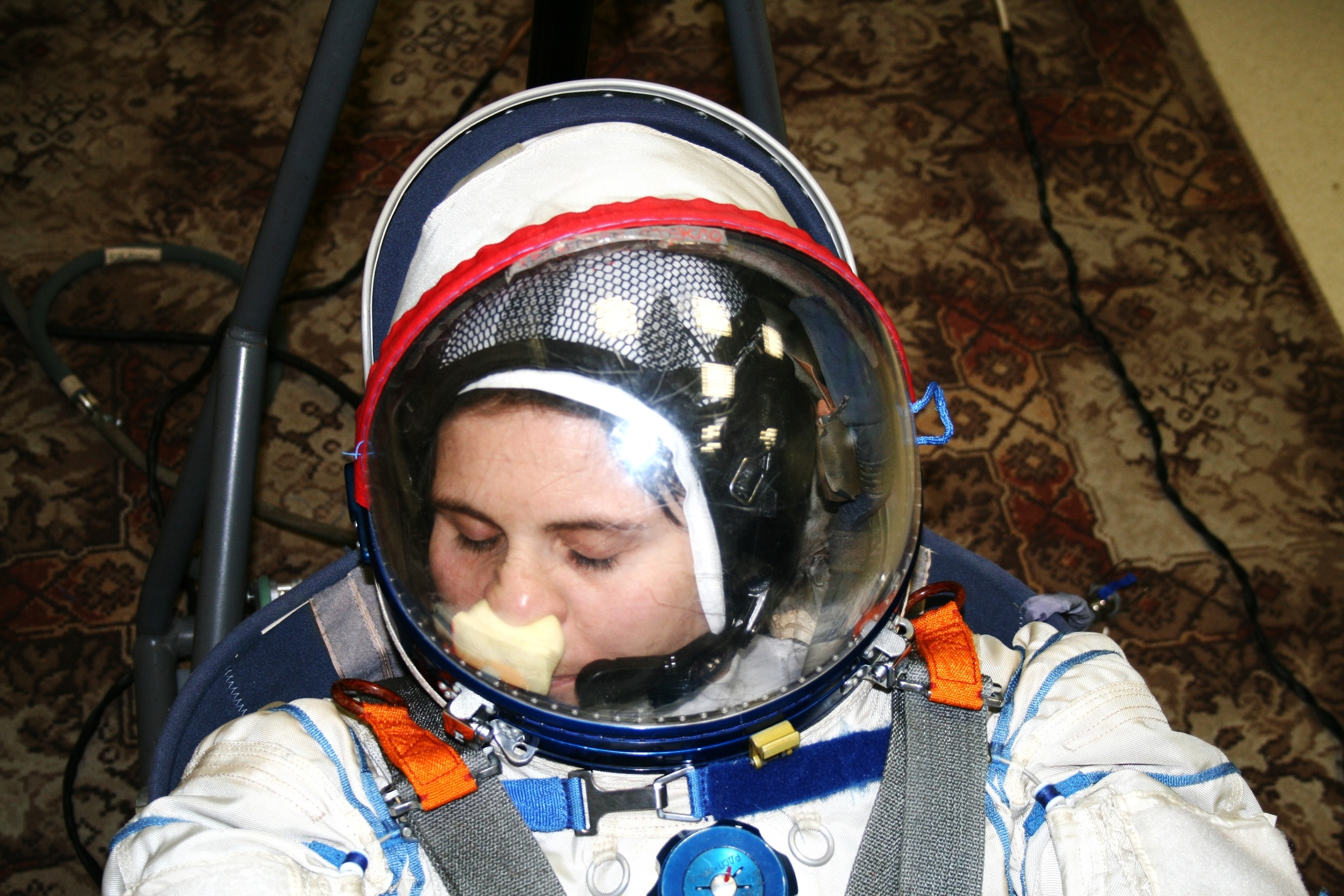 How Do Astronauts Scratch an Itch When In Their Space Suits?
