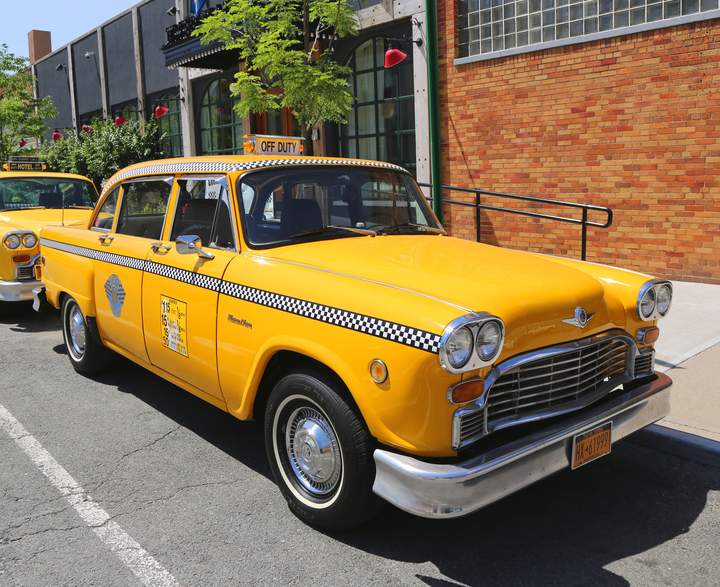 Dustbin Of History The Checker Cab