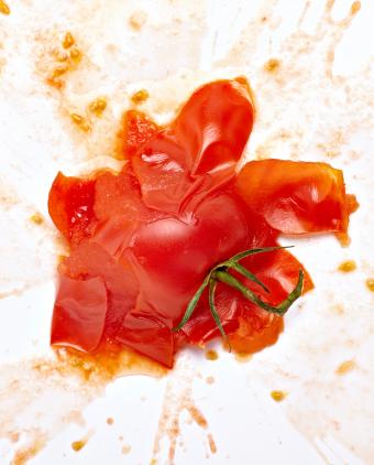 thrown-tomato