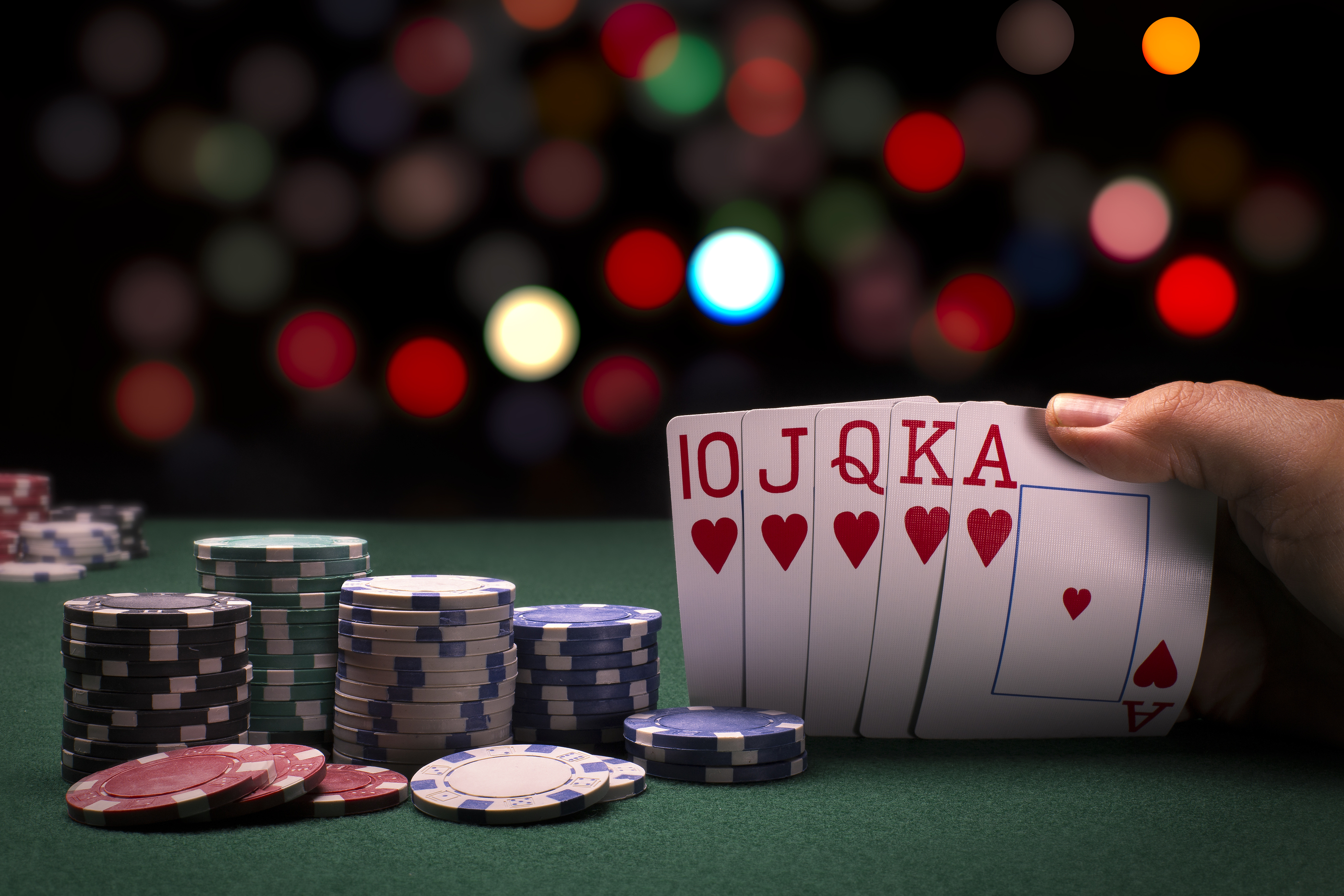 Probability of different poker hands