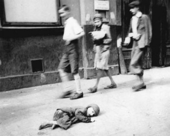 A Dying Child in the Warsaw Ghetto