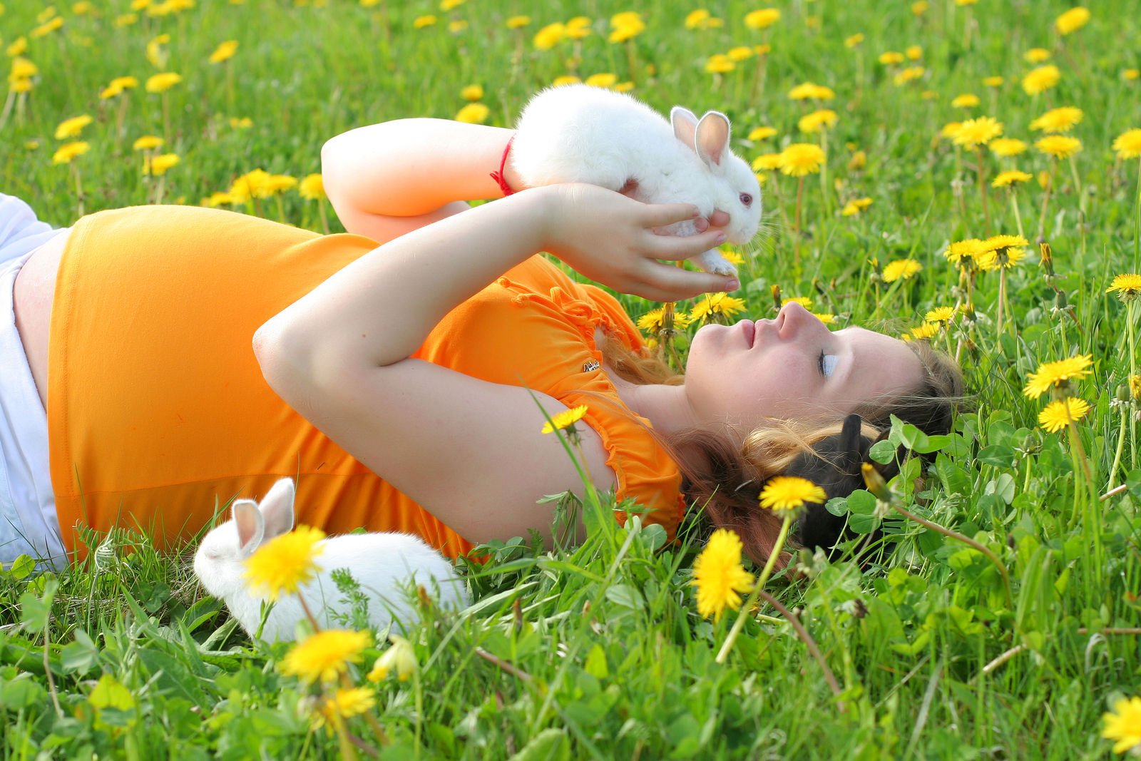 Woman Using The Rabbit 62