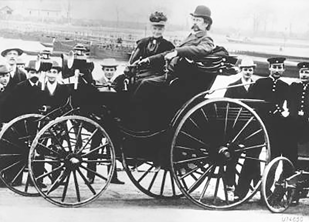 The Husband and Wife Team That Gave the World the First Car, and the ...