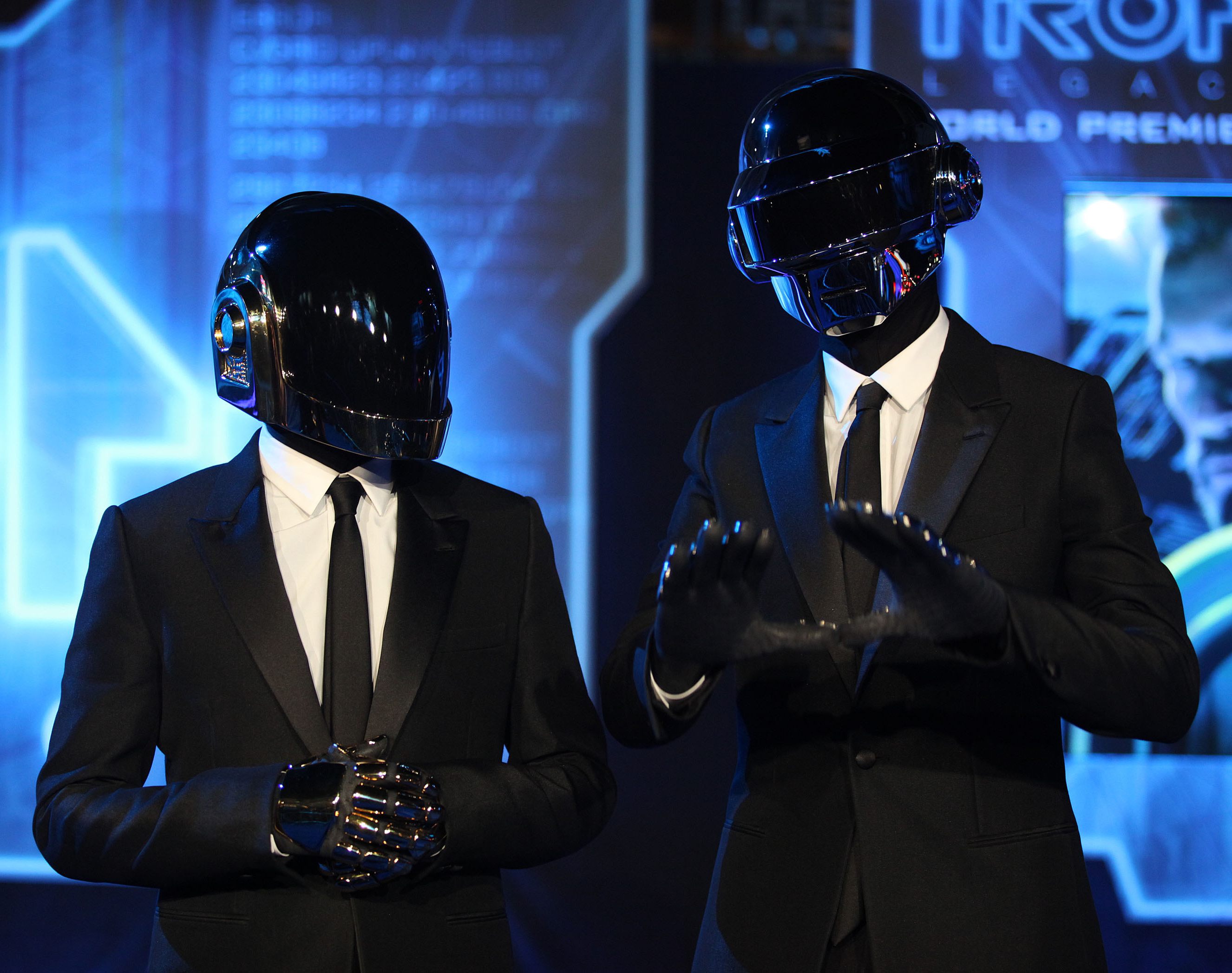 Why Do Daft Punk Dress Like Robots?