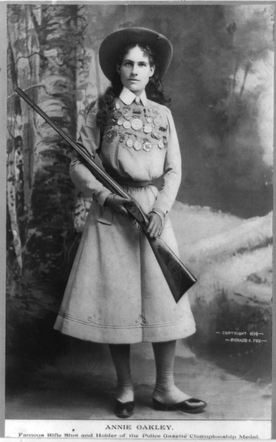 That Time Annie Oakley Offered to Put Together an All ...