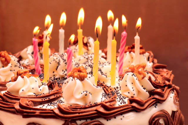 Get Happy Birthday Prince Cake With Candles PNG