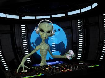 alien-DJ