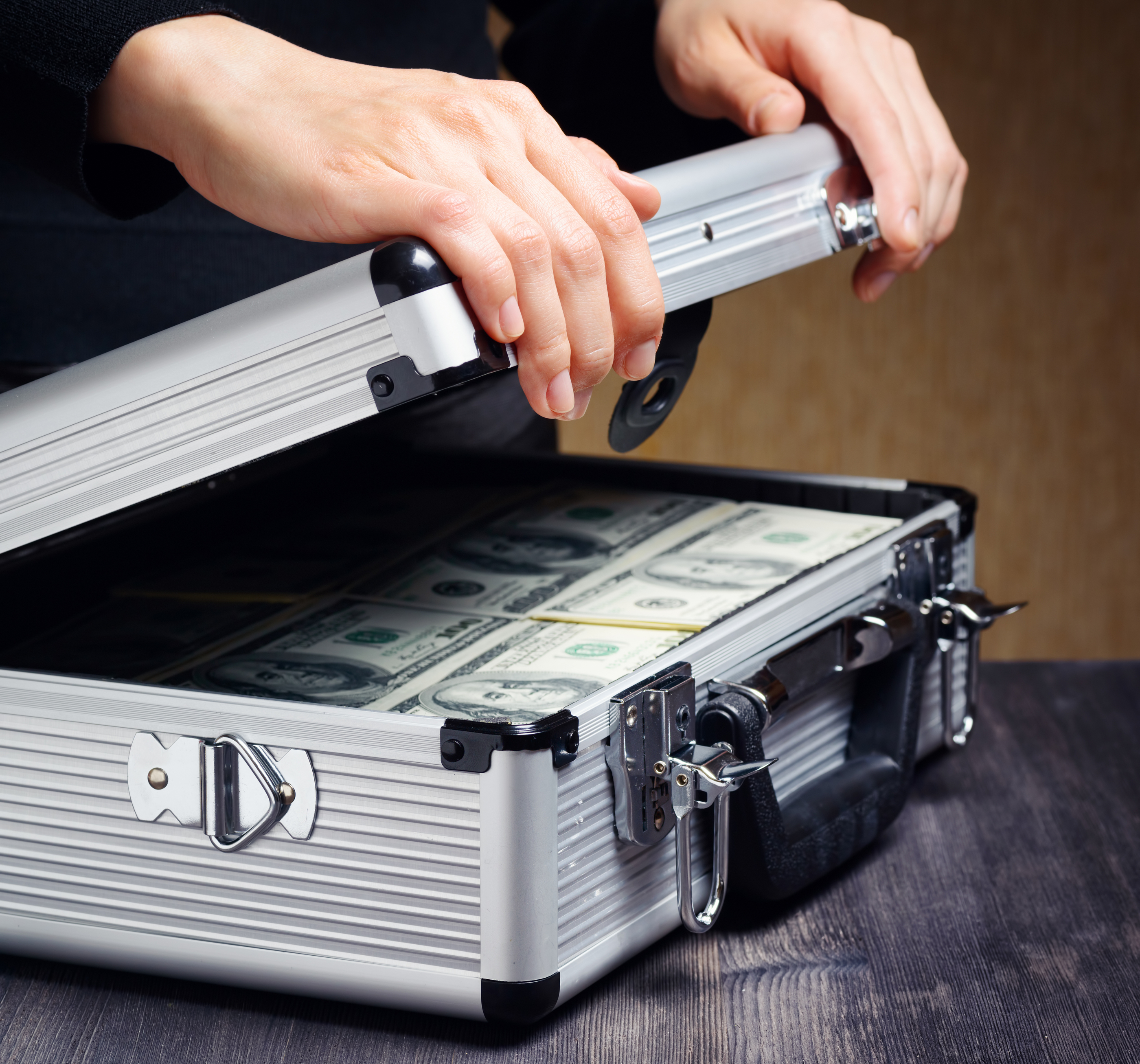 Has Anyone Ever Tried To Pay For Something With A Briefcase Full Of Cash?
