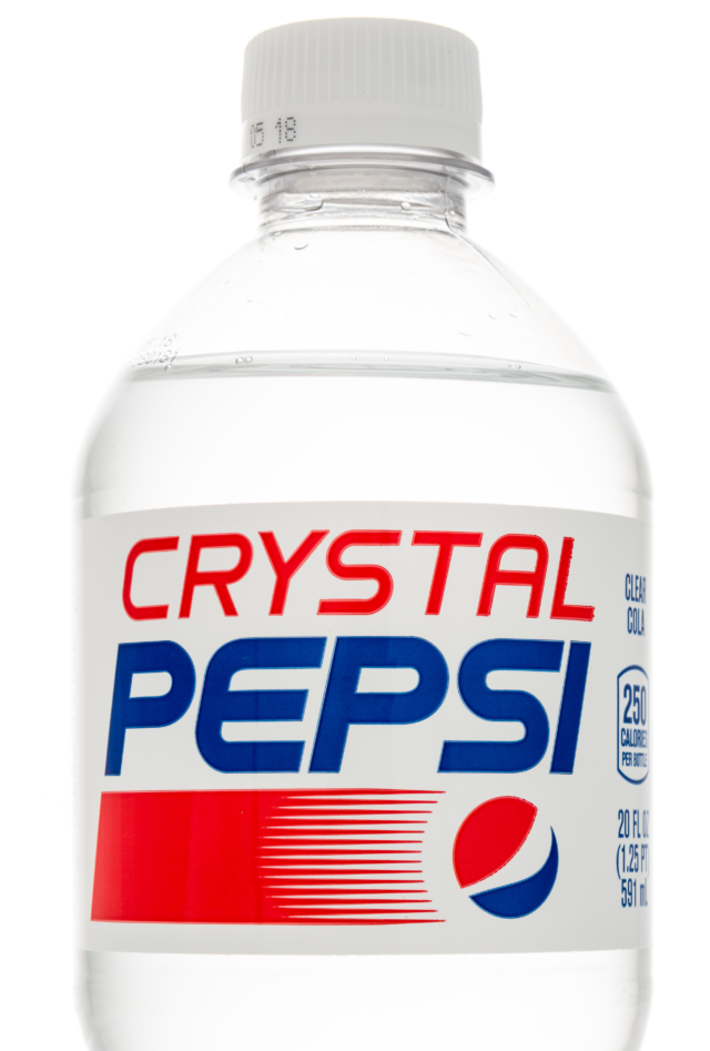 Crystal pepsi release date in Perth