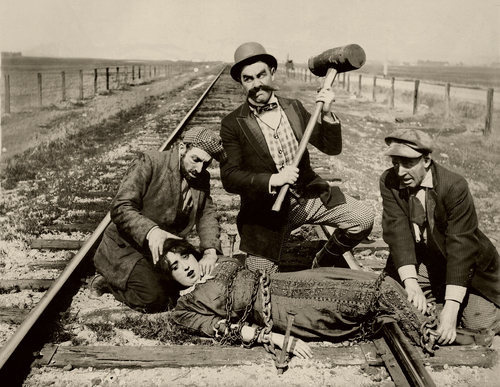 Has Anyone Ever Actually Tied a Damsel in Distress to a Railway Track?