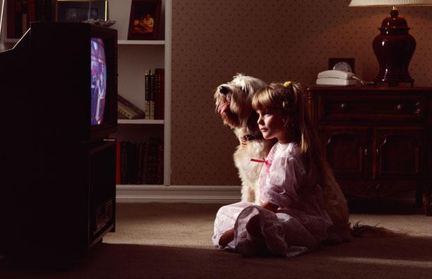 sitting close to the tv will not damage your vision