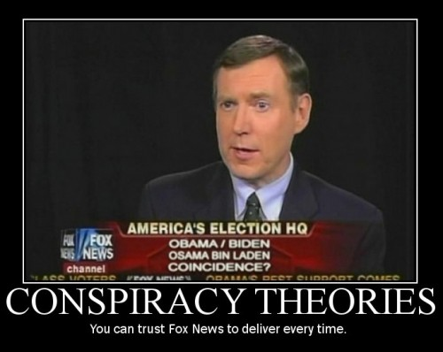 Conspiracy Theories Demotivator