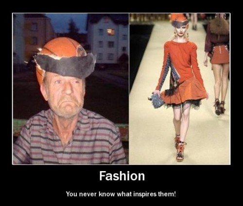Fashion Demotivator