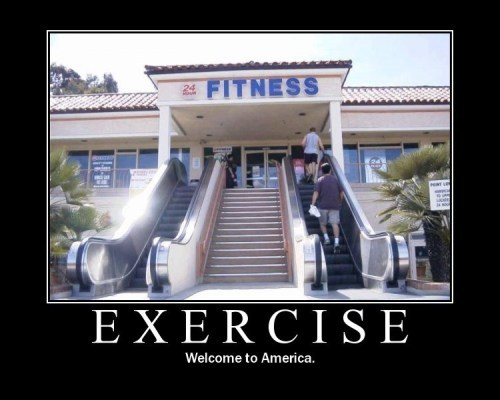 exercise demotivator