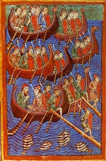 European Great Dane Viking Warriors Didn't...