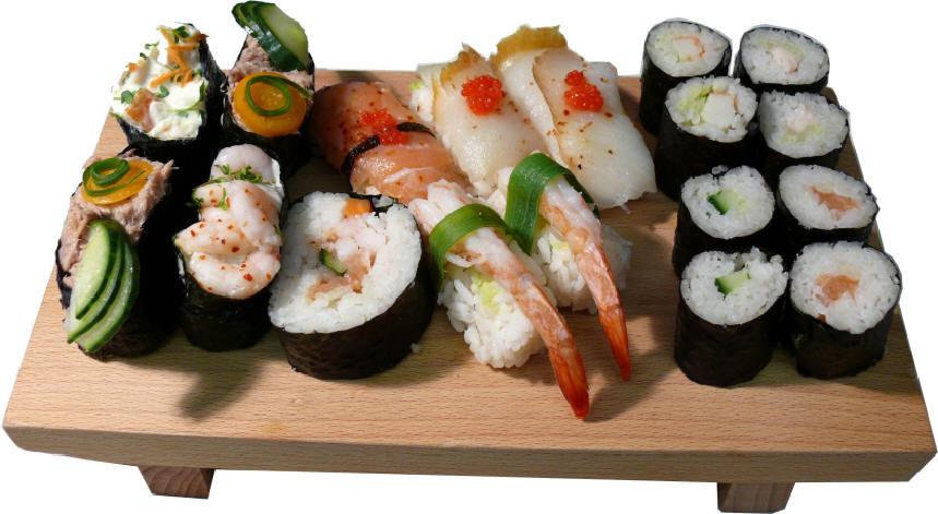 Sushi is not raw fish for Comida para koi