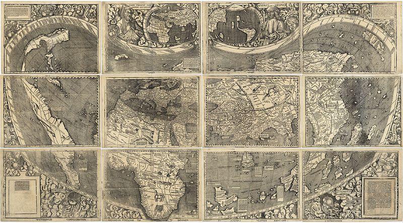 Amerigo Vespucci Map Why America was Named America Amerigo Vespucci Map