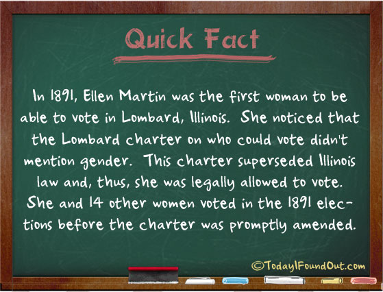 Ellen Martin and 14 Other Women Managed to Legally Vote in ...