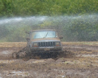 Testing the Discoverer A/T3's in the Mud